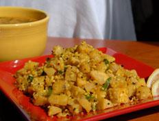 Aratikaya Pesara Pappu Curry