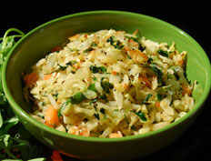 Cabbage with Fenugreek Leaves – Cabbage Menthikura