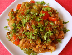 Capsicum Chicken:
