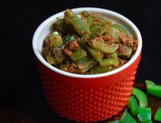 Capsicum with Peanuts – Capsicum Pallilu Kura