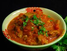 Moong Dal Dosa Curry –  Pesarattu Koora