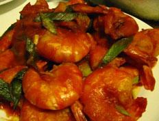 Prawns With Tomato Recipe