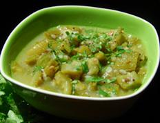 Ridge Gourd Onion Masala – Beerakaya Ullipaya Masala