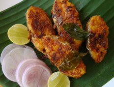 Vanjaram Vepudu – Simple Fish Roast