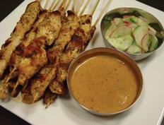 Chicken Satay: