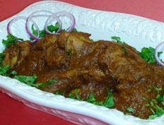 Spicy Hyderabi Chicken Curry