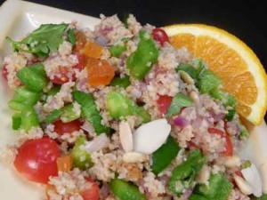 Daliya (Cracked Wheat) Salad