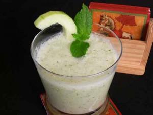 Cool Mint Cucumber Soup