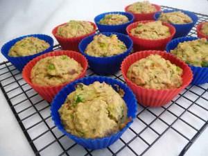 Savory Oat Muffins