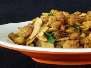 Spicy Chapati Crumble
