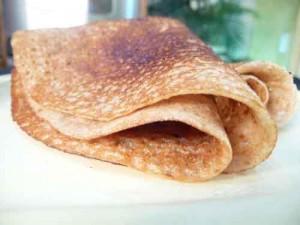 Vella Dosa – Sweet Jaggery Pancake