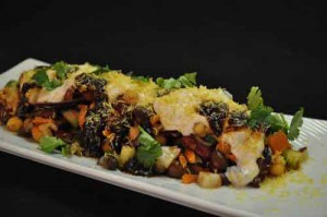 Beans Chaat (Cold Beans Salad)