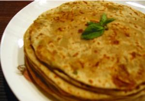 Besan (Chickpea flour) Paratha