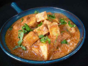 Butter Paneer or Panir Makhani