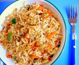 Carrot Egg Fried Rice Recipe
