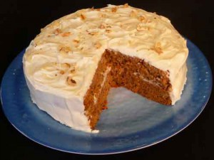 Carrot Cake (Eggless or Not)