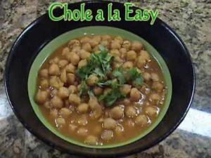 Chole – Garbanzo Beans Curry