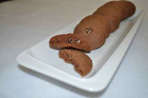 Double Chocolate Cookies (Eggless)