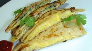 Masala Egg Paratha