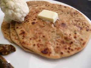 Cauliflower (Gobi) Paratha