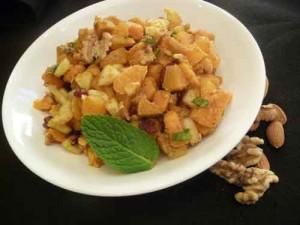 Healthy Sweet Potato Chaat