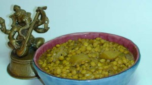 Lauki with Channa Daal (Dudhi Chana)