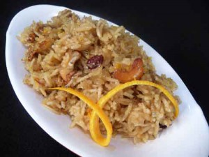 Meethe Chawal aka Sweet Rice