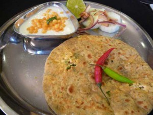 Paneer Paratha – Stuffed Bread
