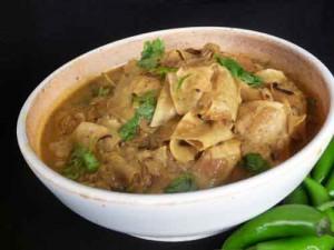 Papad Ki Subzi (Rajasthani Cuisine)