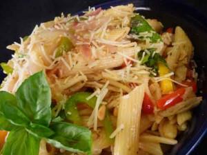 Penne Pasta, Italian Vegetarian Recipe