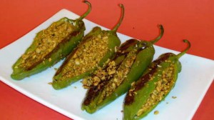 Stuffed Peppers – Indian Appetizer Recipe