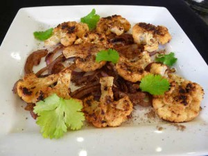 Tawa Gobi – Pan Seared Cauliflower