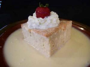 Tres Leches Cake, A Latin Dessert