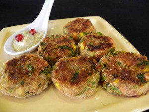 Vegetable Cutlets Recipe