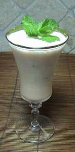 Cantaloupe Milk Shake