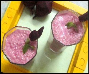 Beetroot Lassi Recipe