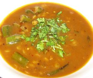 Bendakaya Pappu Charu Recipe