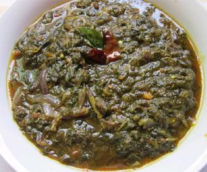 Thotakura Pachadi Recipe