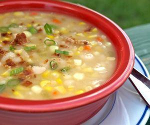 Corn Bean Soup Recipe