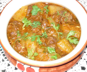 Dosakaya Chicken curry Recipe