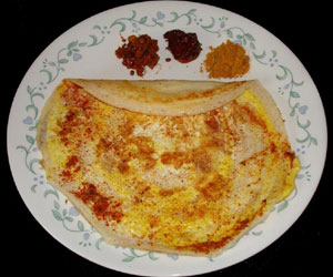 Egg Dosa Recipe