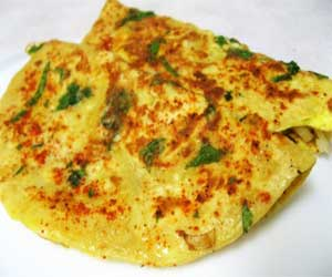 Egg parathas Recipe