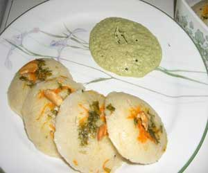 Stuffed Idli Recipe
