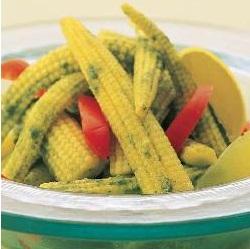 Baby Corn Phudina ( Healthy Starter Recipe )