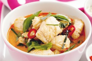 Penang fish curry