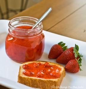 Easy Quick Strawberry Jam