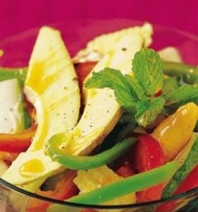 Avocado Salad ( Recipe for Shiny Hair)