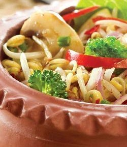 Bean Sprouts and Vegetable Salad ( Healthy Diabetic Recipe )