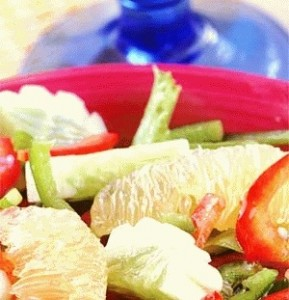 Sweet Lime and Pepper Salad