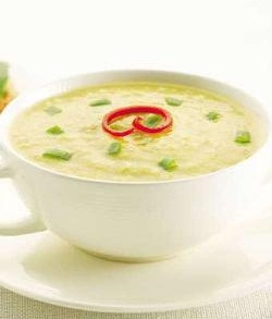 Sweet Corn and Capsicum Soup